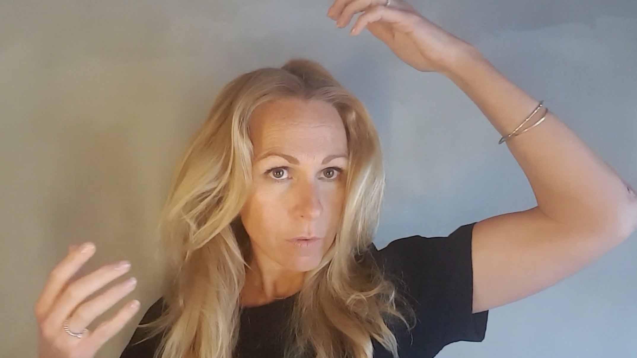 Beautyvlogger Susan haarvolume