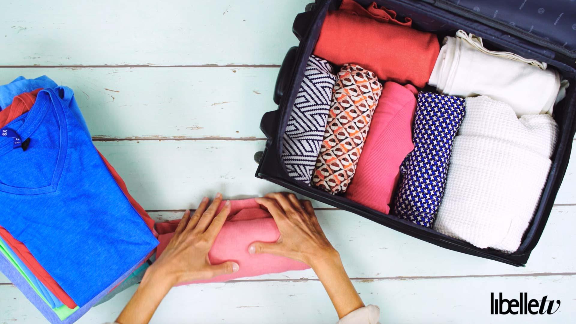 Lifehack vakantiekoffer kleding