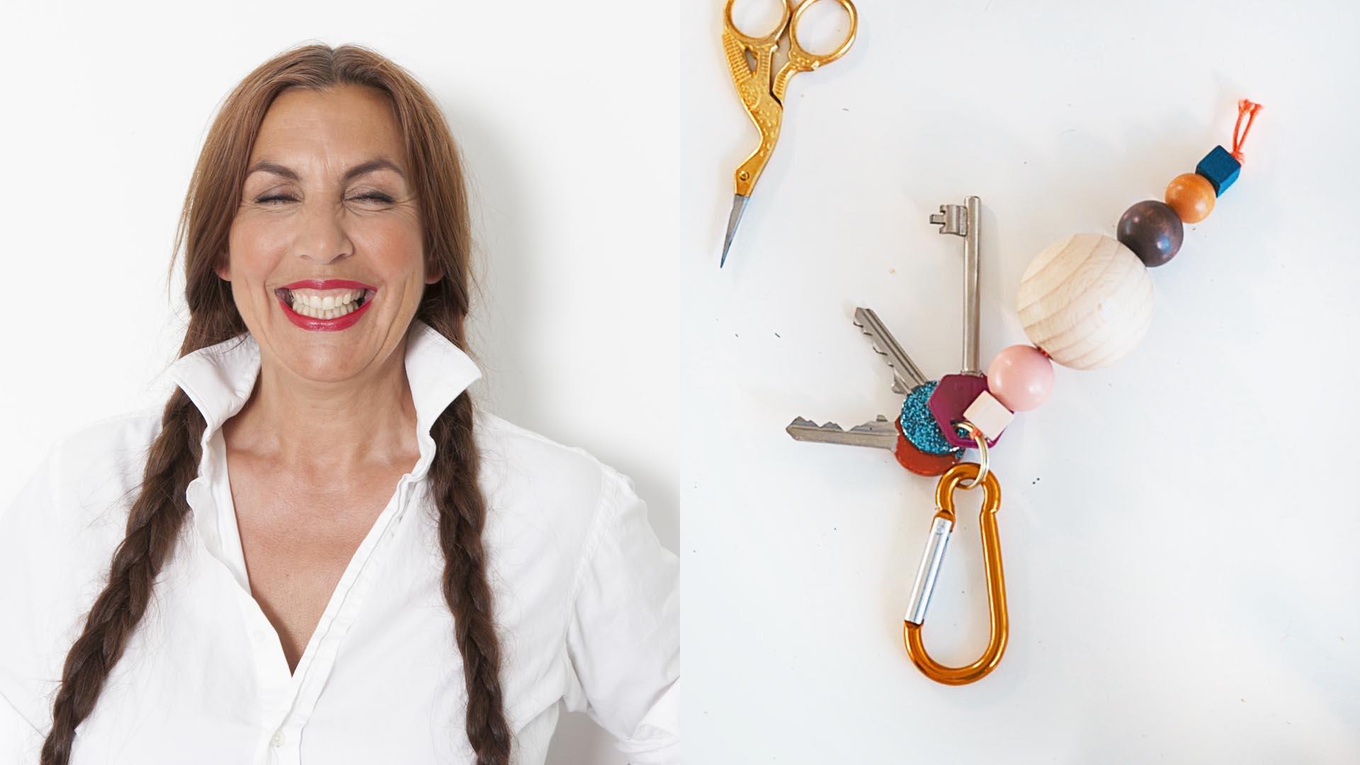 DIY met Angelique sleutelhanger