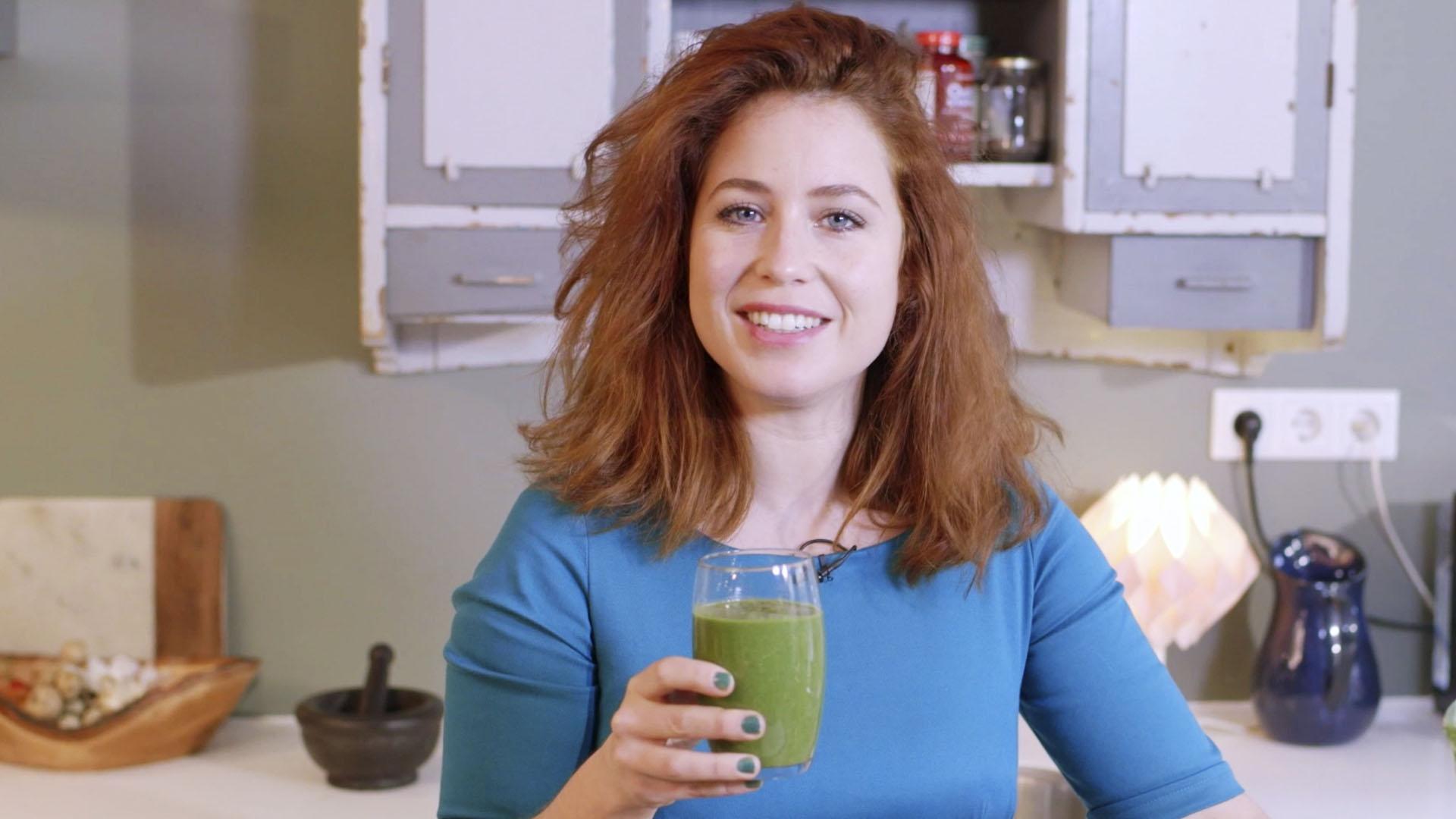 Sanne vogele groene smoothie ontbijt