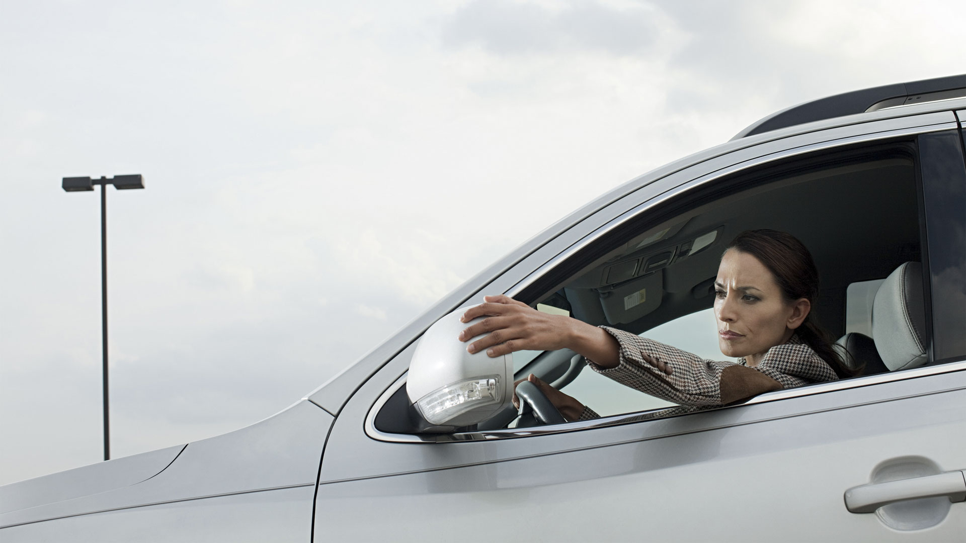 Auto zijspiegels Afstellen