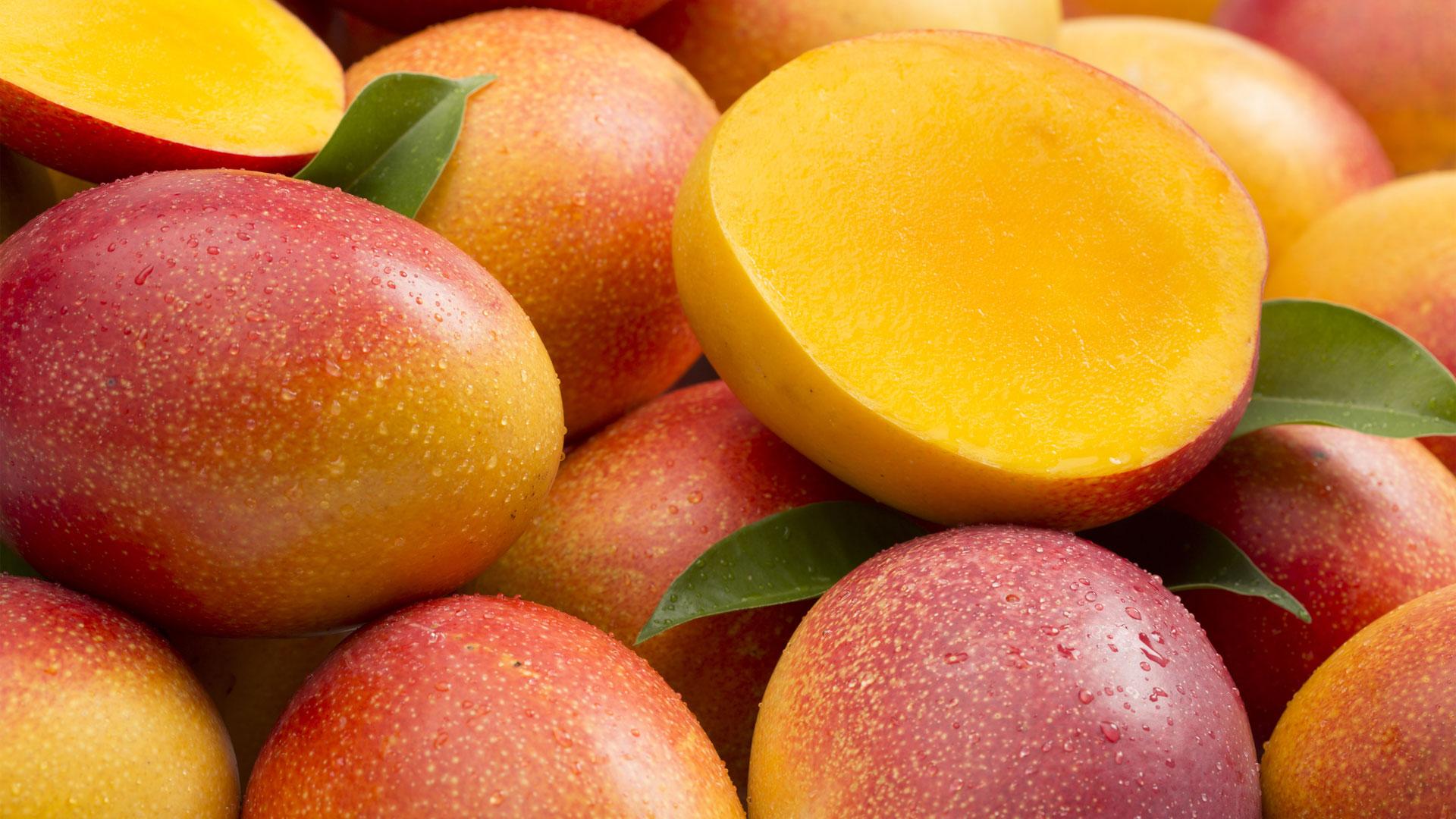 Mango snijden
