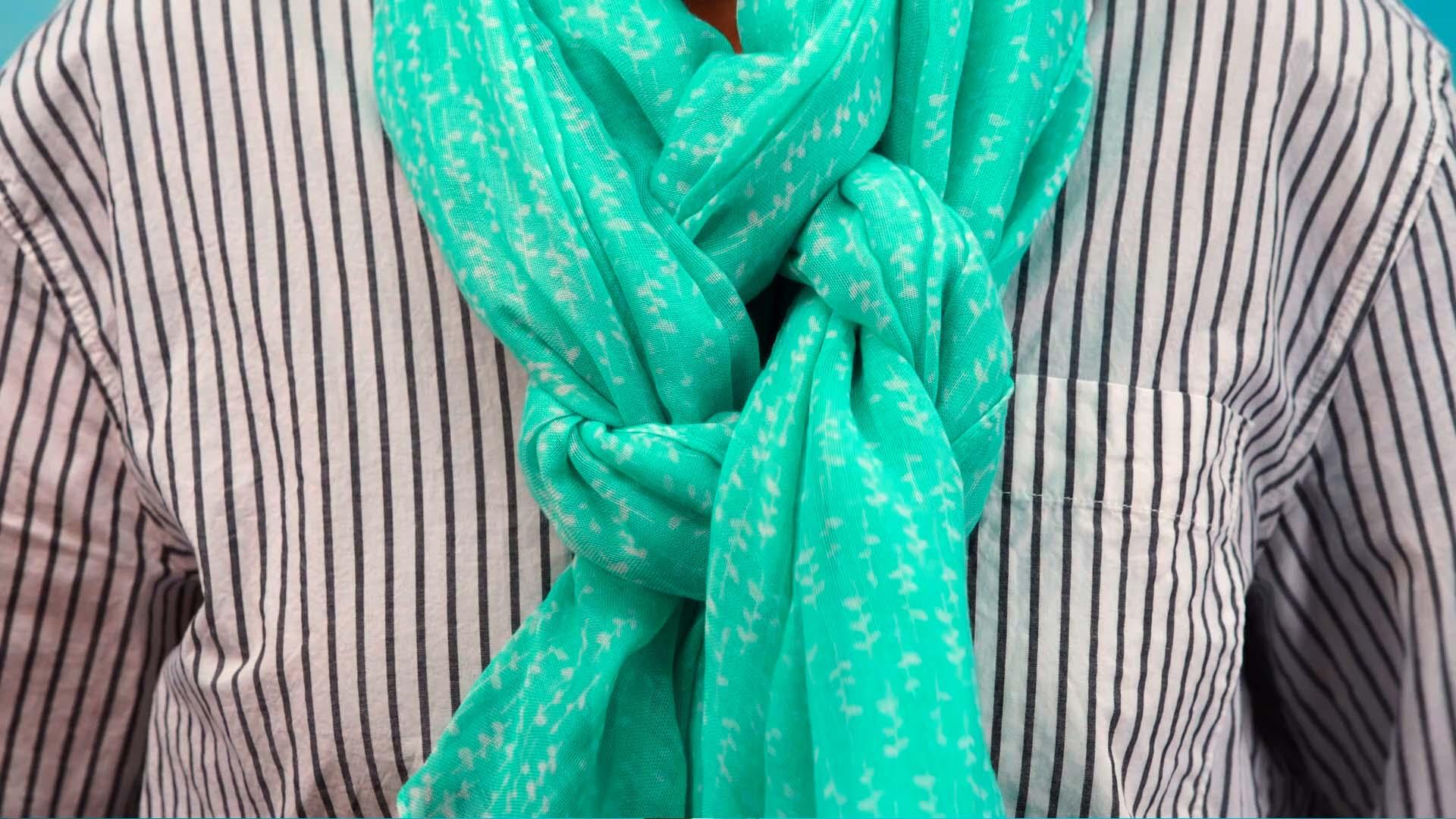 Lifehack creatief sjaal knopen